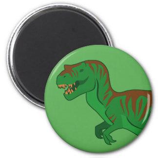 Tyrannosaurus 2 Inch Round Magnet
