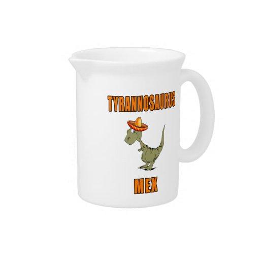 Tyrannosaurus Mex Beverage Pitchers