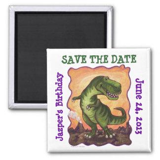 Tyrannosaurus Party Center Magnet