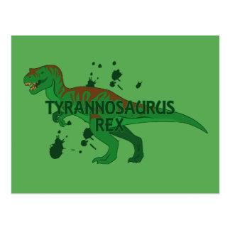 Tyrannosaurus Postcard