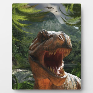 tyrannosaurus-rex-284554 tyrannosaurus rex dinosau photo plaque