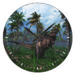 Tyrannosaurus Rex 3 Reloj Redondo Grande