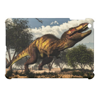 Tyrannosaurus rex and its eggs cover for the iPad mini
