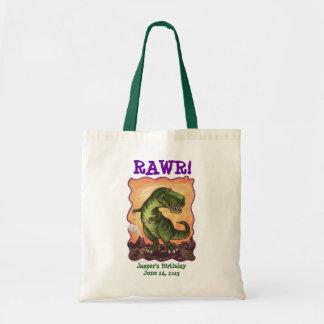 Tyrannosaurus Rex Birthday Party Take Away Bag