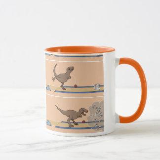 Tyrannosaurus Rex Bowling Mug