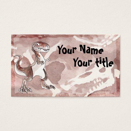 Tyrannosaurus Rex Business Card