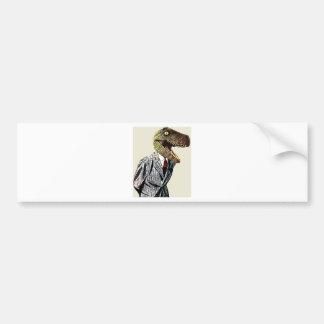 Tyrannosaurus Rex Business Man Bumper Sticker