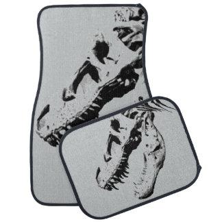 Tyrannosaurus rex car mat