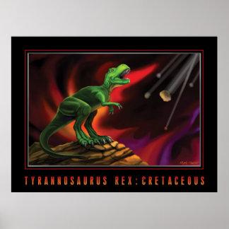 Tyrannosaurus Rex: Cretaceous Poster