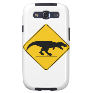 Tyrannosaurus rex crossing samsung galaxy s3 cover