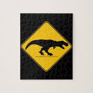 Tyrannosaurus rex crossing puzzle