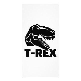 Tyrannosaurus Rex de T-Rex Tarjetas Fotográficas