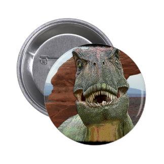 Tyrannosaurus Rex Dinosaur 2 Inch Round Button