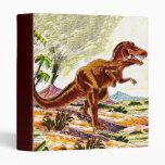 Tyrannosaurus Rex Dinosaur 3 Ring Binder