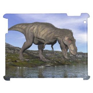 Tyrannosaurus rex dinosaur - 3D render Cover For The iPad