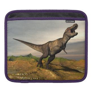Tyrannosaurus rex dinosaur - 3D render iPad Sleeve