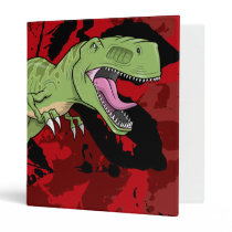Tyrannosaurus Rex Dinosaur  Binder