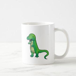 Tyrannosaurus Rex Dinosaur cartoon Coffee Mug