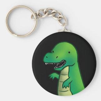Tyrannosaurus Rex Dinosaur cartoon Keychain