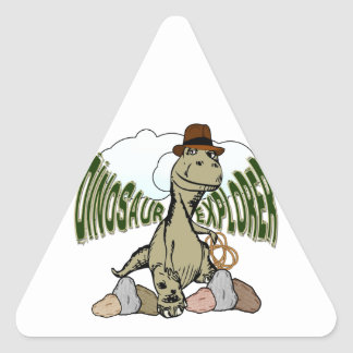 Tyrannosaurus Rex Dinosaur Explorer with Text Stickers