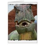 Tyrannosaurus Rex Dinosaur Greeting Cards