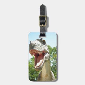 Tyrannosaurus Rex dinosaur Luggage Tags