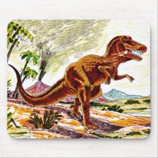 Tyrannosaurus Rex Dinosaur Mouse Pad