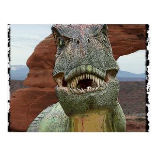 Tyrannosaurus Rex Dinosaur Postcard