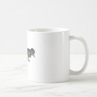 Tyrannosaurus Rex Dinosaur Running in Profile Coffee Mug