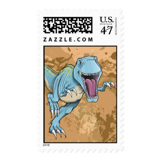 Tyrannosaurus Rex Dinosaur Stamp
