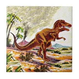 Tyrannosaurus Rex Dinosaur Tile