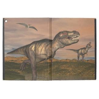 """Tyrannosaurus rex dinosaurs - 3D render iPad Pro 12.9"""" Case"""