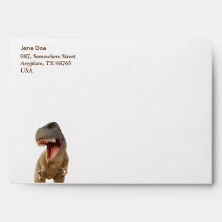 Tyrannosaurus Rex Envelope