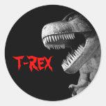 Tyrannosaurus Rex Etiquetas