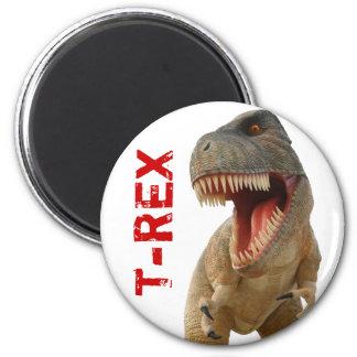 Tyrannosaurus Rex Imán Redondo 5 Cm