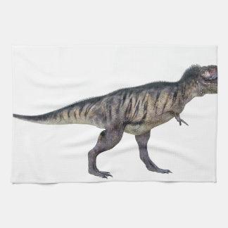 Tyrannosaurus Rex In Side Profile Hand Towel