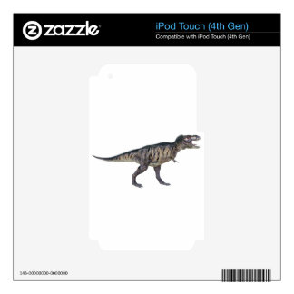 Tyrannosaurus Rex In Side Profile iPod Touch 4G Decal
