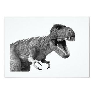 Tyrannosaurus Rex Invitación 12,7 X 17,8 Cm