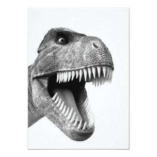 "Tyrannosaurus Rex Invitación 5"" X 7"""