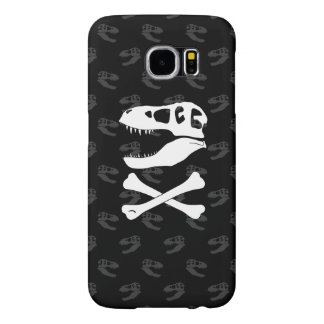 Tyrannosaurus Rex Jolly Roger Samsung Galaxy S6 Case