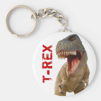Tyrannosaurus Rex Llavero Redondo Tipo Pin