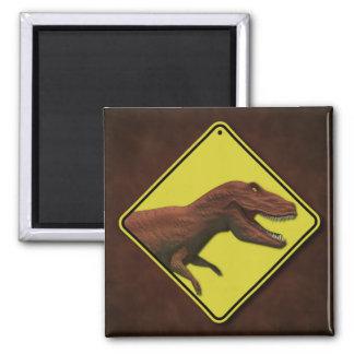 Tyrannosaurus Rex 2 Inch Square Magnet