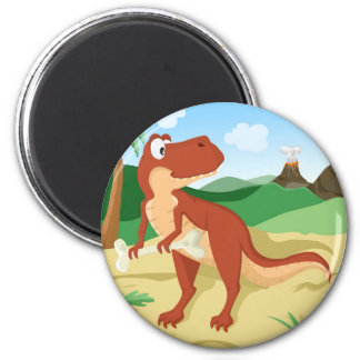 Tyrannosaurus Rex Refrigerator Magnet