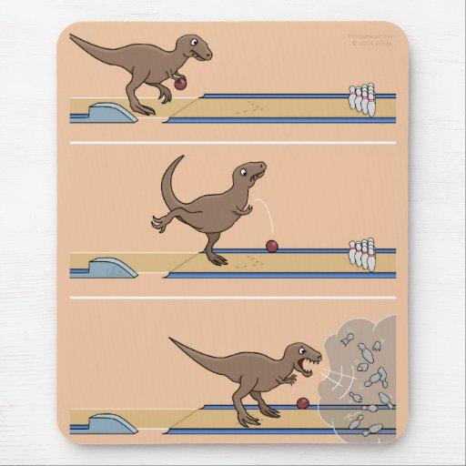Tyrannosaurus Rex Mousepad que rueda Tapete De Ratón