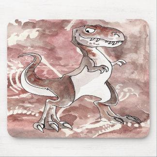 Tyrannosaurus Rex Mousepad with Fossils