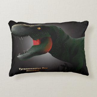 Tyrannosaurus rex pillow. decorative pillow