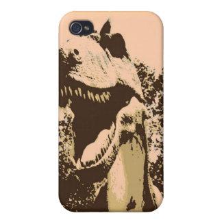 Tyrannosaurus Rex Pop Art iPhone 4/4S Cases
