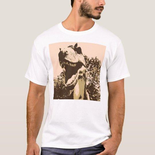Tyrannosaurus Rex Pop Art T-Shirt