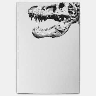 Tyrannosaurus rex post-it notes