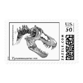 Tyrannosaurus rex postage